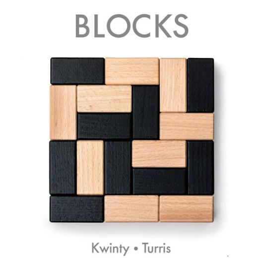 BLOCKS - 2 juegos de estratégia para 2 jugadores