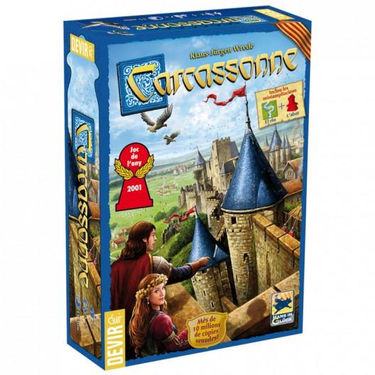 Carcassonne (català) - Joc d'estratègia (inclou 2 mini ampliacions)