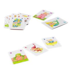 Los 10 cerditos - juego de cartas