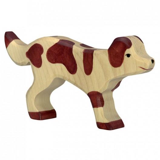 Perro guardián - animal de madera