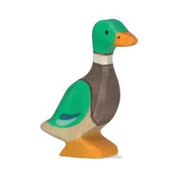 Pato - animal de madera