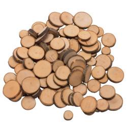 Círculos de madera para manualidades