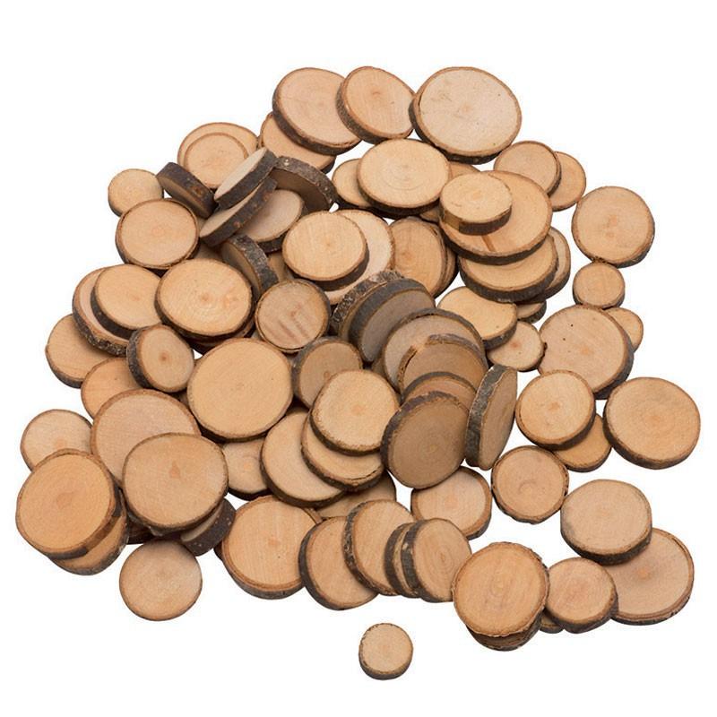 C rculos de madera para manualidades - Madera para manualidades ...
