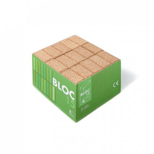 15 Bloques de corcho natural - BLOCS15