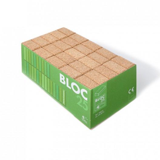 25 Bloques de corcho natural - BLOCS25
