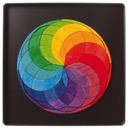 Puzzle creativo magnético La rueda del arco iris