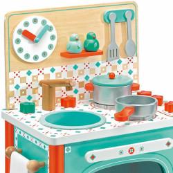La cocina de madera de Leo