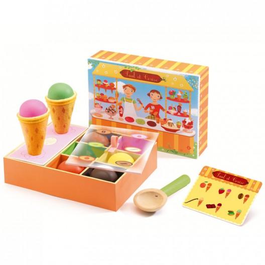 La Heladería de Paul et Cerise - juguete de madera