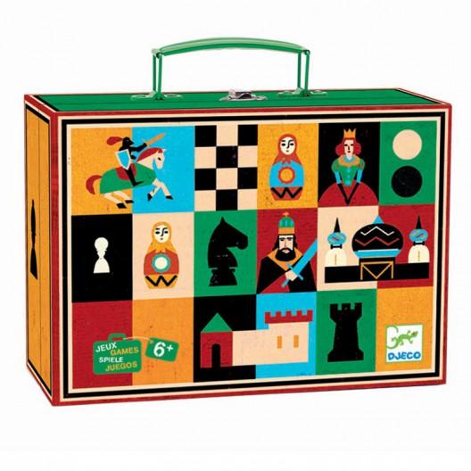 Ajedrez y Damas - juego clásico
