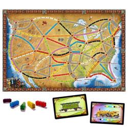 ¡Aventureros al tren! EE.UU. y Canadá - juego estratégico de tablero