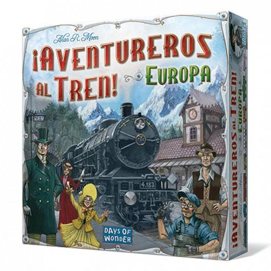 ¡Aventureros al tren! Europa - juego estratégico de tablero