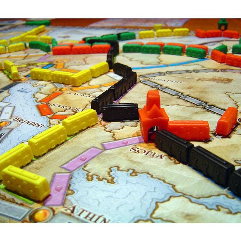 Aventureros Al Tren Europa  Juego Estratgico De Tablero Days Of