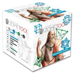 Zometool Cuerpos Platónicos - Set de construcción avanzado, 260 piezas