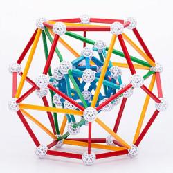Zometool El Cosmo de Kepler - Set de construcción avanzado, 158 piezas