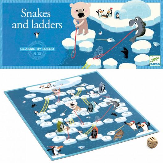 Escaleras y serpientes - juego clásico