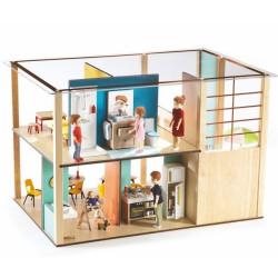 Familia de casas de muñecas Thomas y Marion