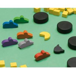El Gato Negro - juego de memoria tipo trile