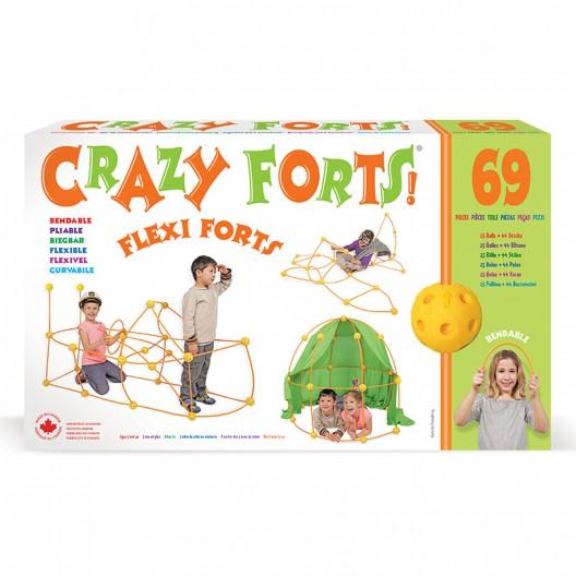 Crazy Forts! - Flexi-Forts juguete de Construcción, el flexible
