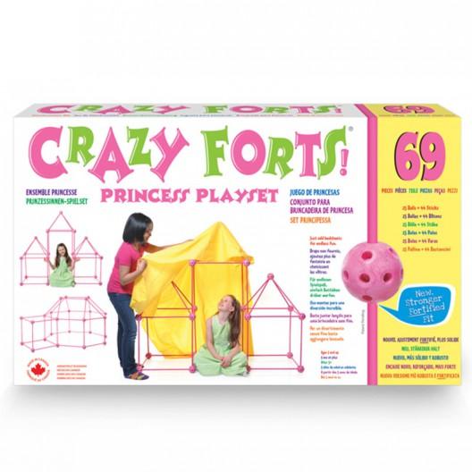 Crazy Forts! - joguina de construcció El Castell rosa