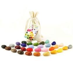 Crayon Rocks - ceras para pintar (32 piedras)