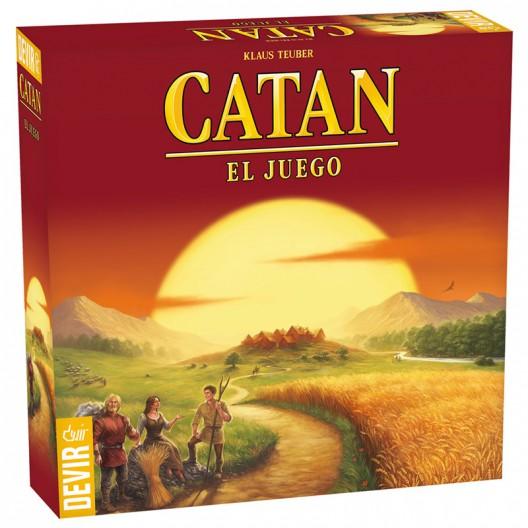 Catán - joc bàsic de taula familiar en espanyol