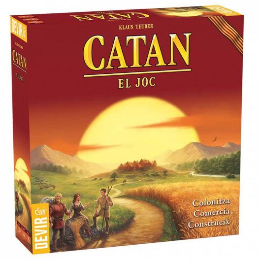 Catán - joc bàsic de taula familiar en catalá