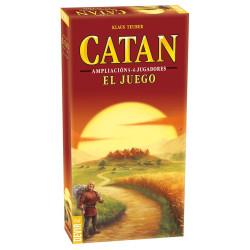 Los colones de Catán - ampliación para 5-6 jugadores