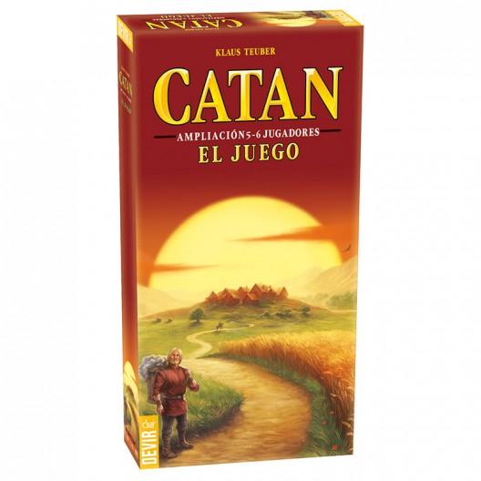 Catán juego básico (español) - ampliación para 5-6 jugadores
