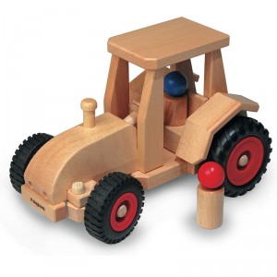 Tractor moderno de madera - últimas unidades