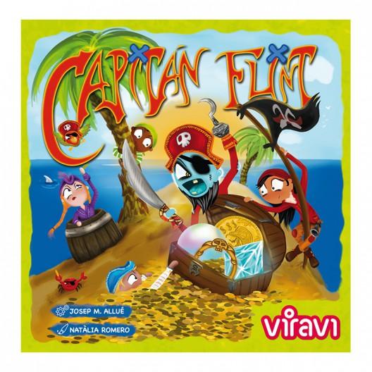 Capitán Flint - divertido juego de cartas familiar