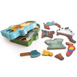 Inzebox Aventuro - Juego magnético crea tu aventurero