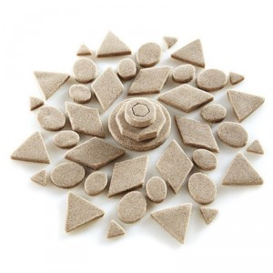 Moldes formas geométricas - Kinetic Sand