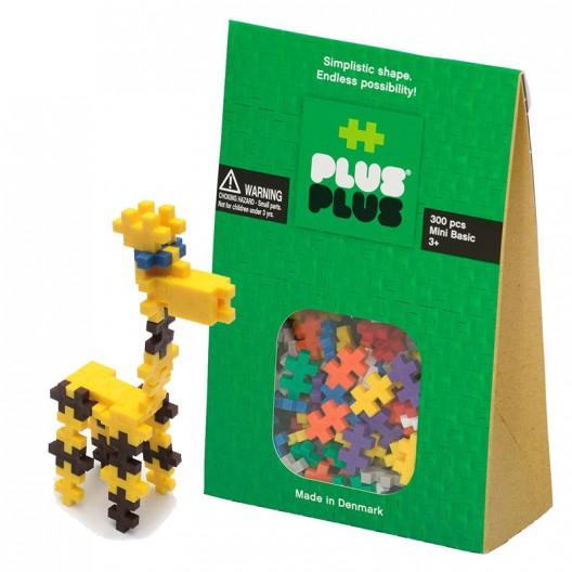 Plus-Plus Mini Basic 300 piezas colores básicos - juguete de construcción