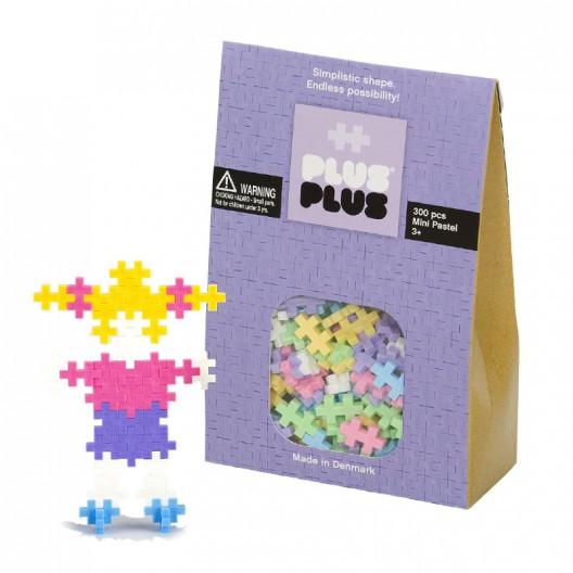 Plus-Plus Mini Pastel 300 piezas colores Pastel - juguete de construcción