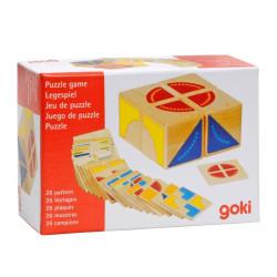 Kubus - juego de puzzle con formas geométricas y colores