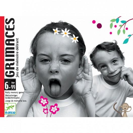Grimaces - juego de memoria y mímica