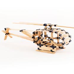 TomTecT 1000 piezas - Cofre extra-grande con plaquitas de construcción multilongitudes