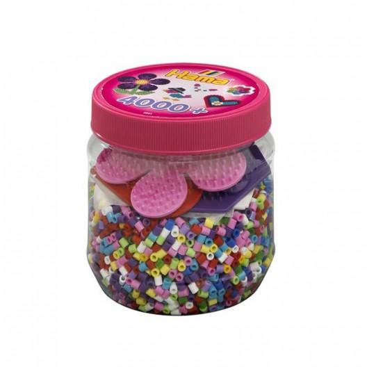 4000 perlas Hama MIDI (Pot)
