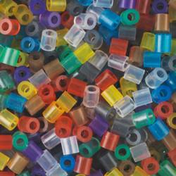 3000 perlas Hama colores transparentes (bolsa)