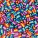 3000 perles Hama MIDI bicolor mix 3 (bossa)