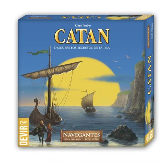 Navegantes de Catán - expansión para el juego básico