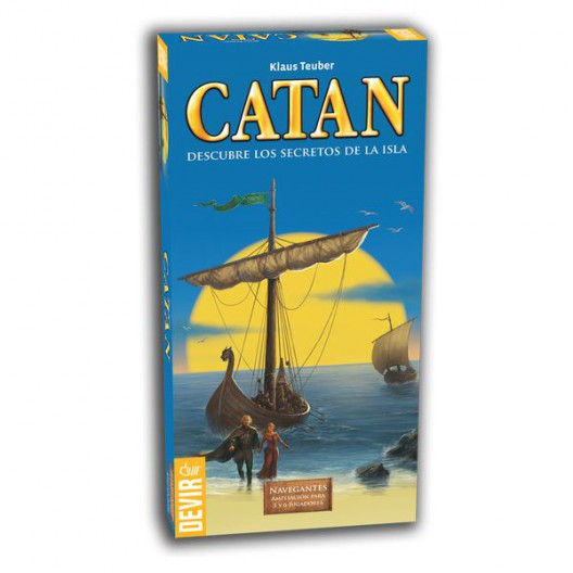 Ampliación Navegantes de Catán - para 5 y 6 jugadores