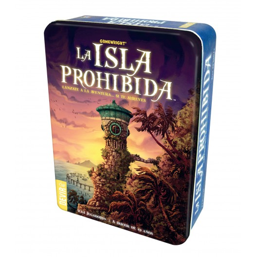 La Isla Prohibida (español) - juego cooperativo para 2-4 jugadores