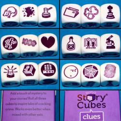Rory's Story Cubes Pistas - extensión de 3 dados de crear historias