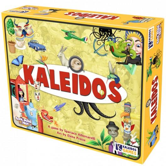 Kaleidos - joc d'objectes ocults per a 2-12 jugadors