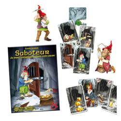 Saboteur - Juego de estrategia con cartas + expansión