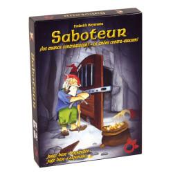 Saboteur - Juego de estrategia con cartas + expansión 10º aniversario