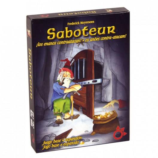 Saboteur : Los enanos contraatacan - Juego de estrategia con cartas + expansión