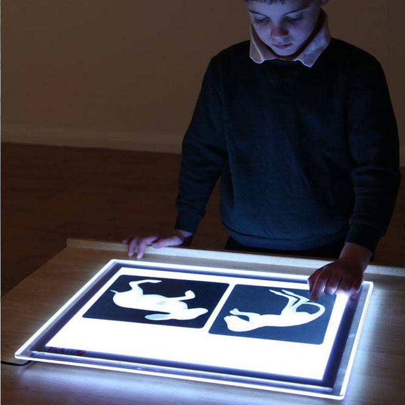 Portable Light Panels : Light panel a portable tickit tik kinuma