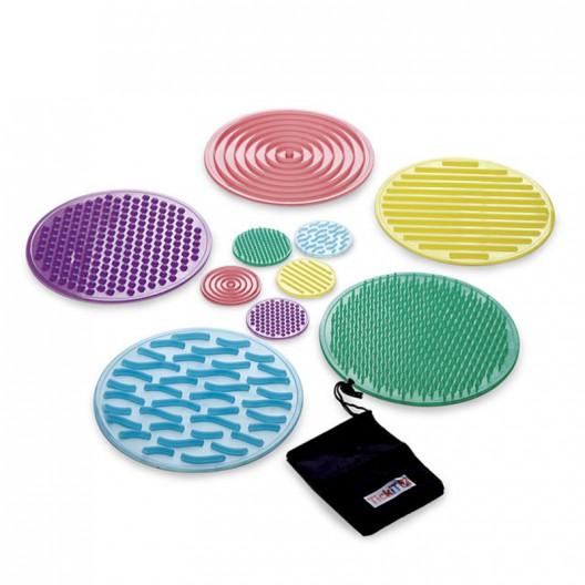 Set de Cercles Sensorials de Silicona de Silishapes